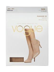 Vogue - Pleasure 20 den -sukat 2-pack - NATURAL   Stockmann