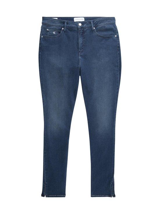 Calvin Klein Jeans Plus - Plus Size High Rise Skinny Ankle -farkut - 1BJ AB104 BLUE BLACK RIVET | Stockmann - photo 1