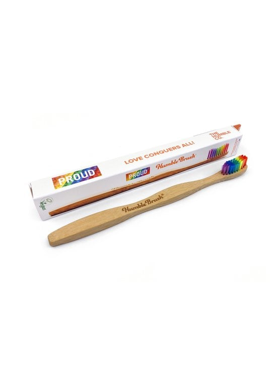 Humble Brush - Proud Bamboo Toothbrush -hammasharja - MULTICOLOR | Stockmann - photo 1