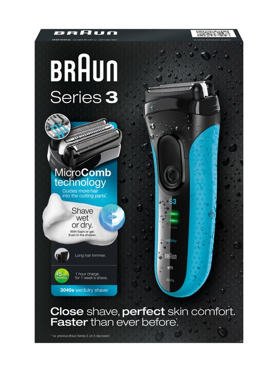 Braun - Series3 3040s Wet & Dry -parranajokone - null   Stockmann - photo 3