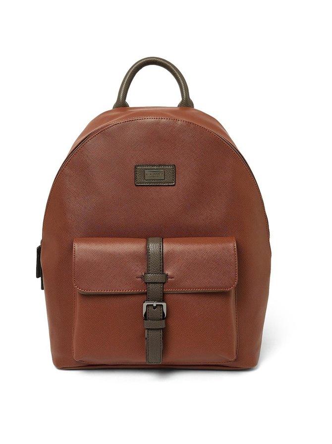 Eazey Textured PU Backpack -reppu