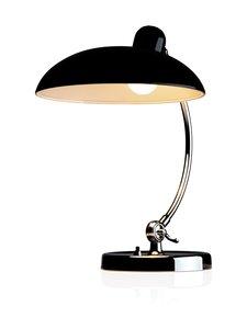 Fritz Hansen - Kaiser Idell Luxus -pöytävalaisin - MATT BLACK | Stockmann