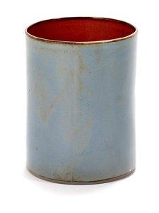 Serax - Anita Cylinder Medium -maljakko 12,5 x 16,5 cm - SININEN | Stockmann