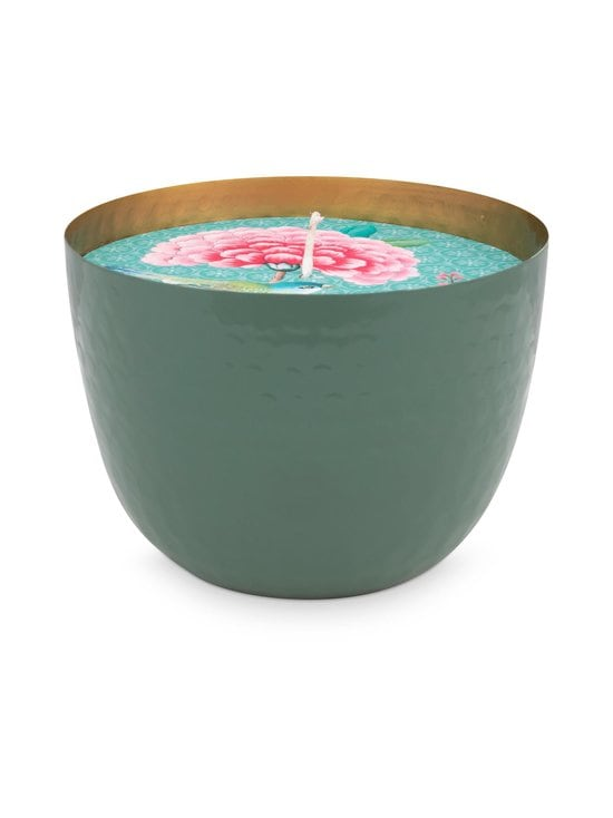PIP Studio - Blushing Birds -kynttilä 13 cm - GREEN | Stockmann - photo 1
