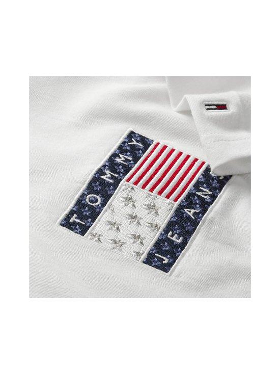 Tommy Jeans - Tjw Star Americana Flag Tee -paita - YBR WHITE   Stockmann - photo 3
