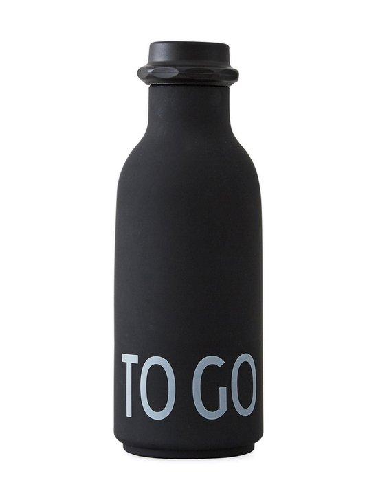 Design Letters - To Go -juomapullo 500 ml - BLACK (MUSTA) | Stockmann - photo 1