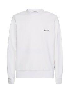 Calvin Klein Menswear - Small Chest Logo Sweatshirt -collegepaita - YAF BRIGHT WHITE | Stockmann