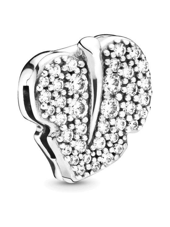 Leaf Sterling Silver Clip Charm -koru
