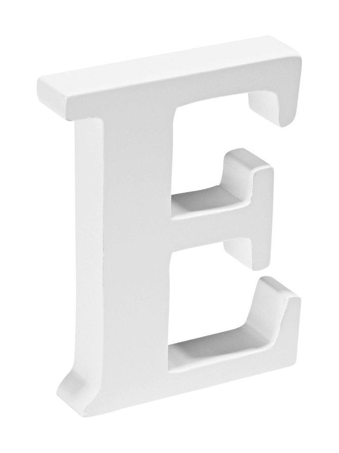 Puukirjain E