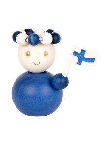 Aarikka - Suomineito-koriste 7 x 7 x 5 cm - BLUE | Stockmann