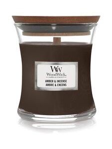 Woodwick - Amber & Incense Mini -tuoksukynttilä - DARK GREY | Stockmann