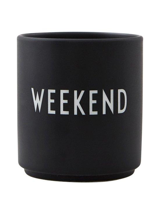 Design Letters - Favourite-muki, Weekend - BLACK | Stockmann - photo 1