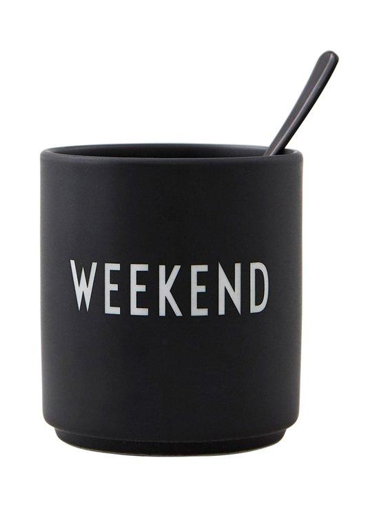 Design Letters - Favourite-muki, Weekend - BLACK | Stockmann - photo 2