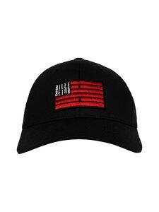 BILLEBEINO - Flag Curve Dad Cap -lippalakki - 99 BLACK | Stockmann