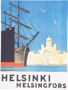 Come to Finland - CTF Helsinki Gateway -juliste - MULITCOLOURED | Stockmann