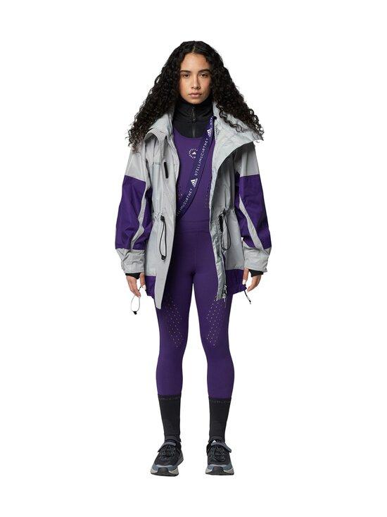 adidas by Stella McCartney - Reflective-takki - REFLECTIVE SILVER/CLEAR ONIX/COLLEGIATE PURPLE   Stockmann - photo 3