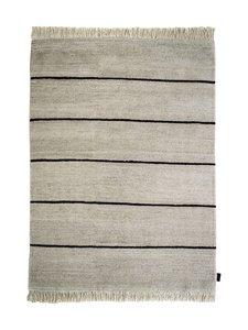 Sera Helsinki - Polku-villamatto 100 x 200 cm - BLACK/NATURAL WHITE (MUSTA/LUONNONVALKOINEN) | Stockmann