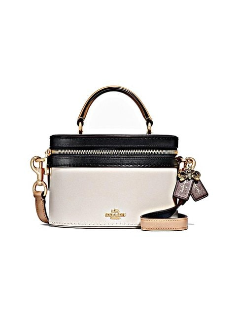 Coach – Selena Trail Bag In Colorblock -nahkalaukku