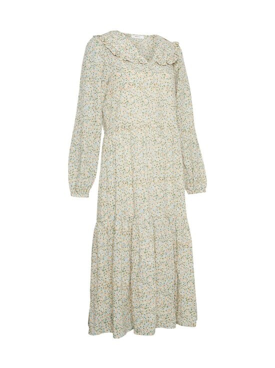 Moss Copenhagen - Evette LS Dress AOP -mekko - ECRU FLOWER | Stockmann - photo 3