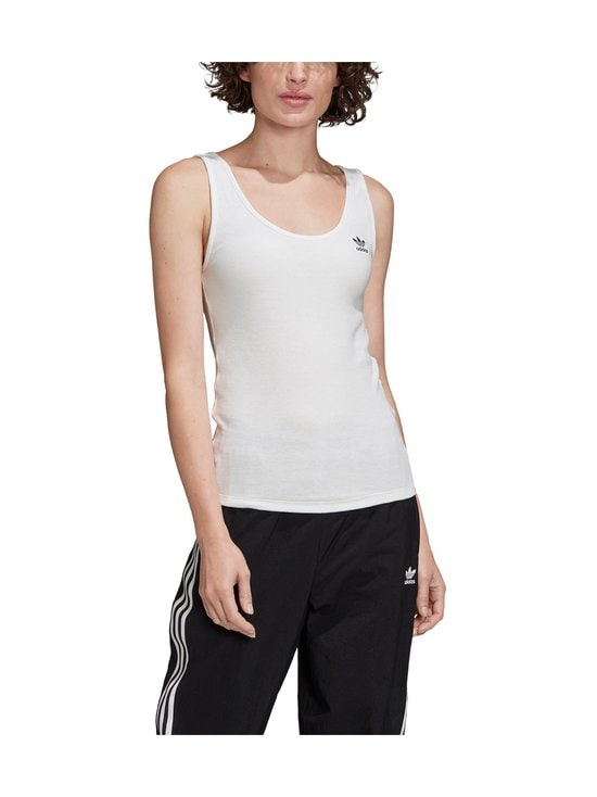 adidas Originals - Tank Top -toppi - WHITE/BLAC WHITE/BLACK | Stockmann - photo 3