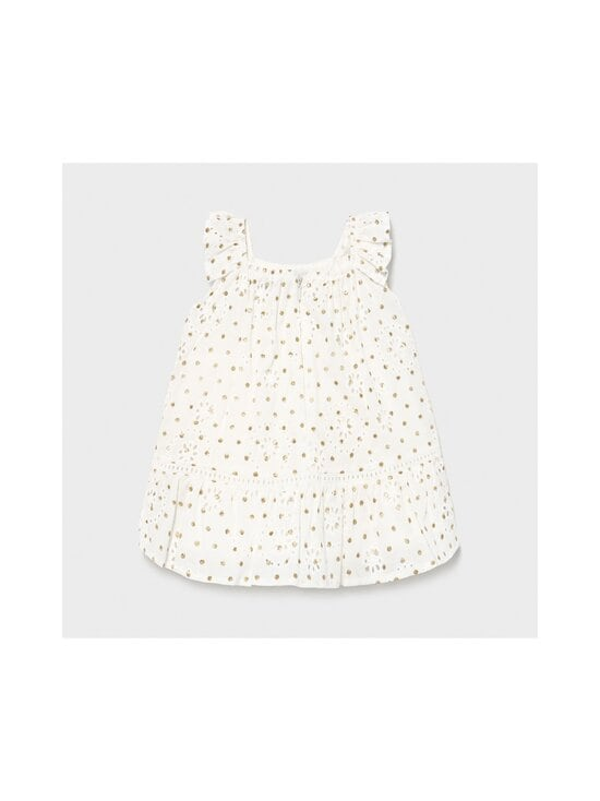 Mayoral - Perforated Dotted -mekko - 64 NATURAL | Stockmann - photo 2