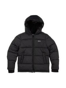 Hugo Boss Kidswear - Puffer Jacket -takki - 09B BLACK | Stockmann