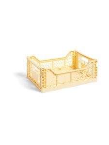 HAY - Colour Crate M -laatikko 40 x 30 x 14,5 cm - LIGHT YELLOW | Stockmann