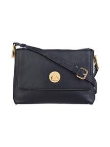 Coccinelle - Liya Shoulder Handbag -nahkalaukku - 001 NOIR/NOIR | Stockmann