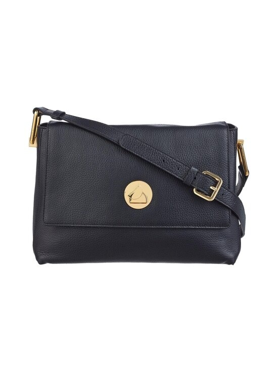 Coccinelle - Liya Shoulder Handbag -nahkalaukku - 001 NOIR/NOIR | Stockmann - photo 1