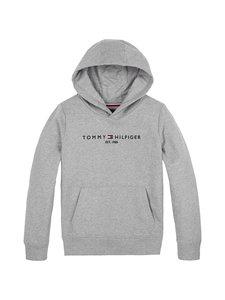 Tommy Hilfiger - Essential Hoodie -huppari - P6U MID GREY HTR | Stockmann