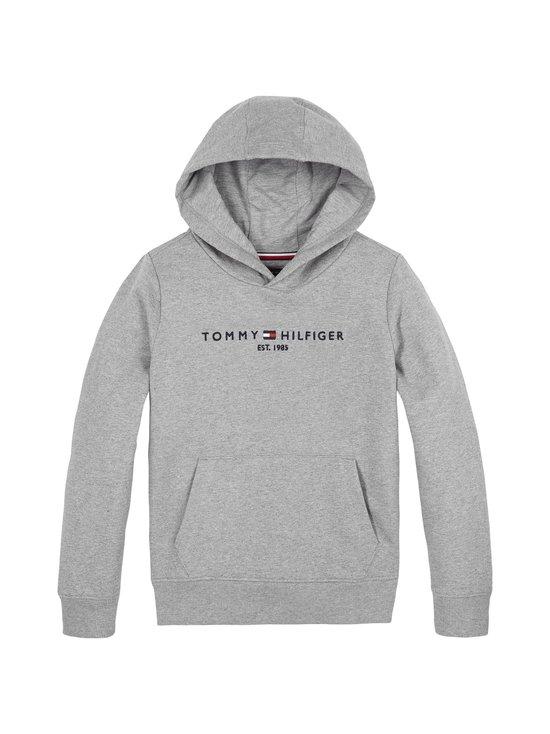 Tommy Hilfiger - Essential Hoodie -huppari - P6U MID GREY HTR | Stockmann - photo 1