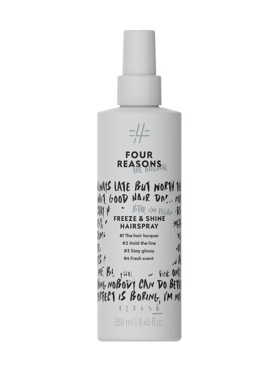 Four Reasons - Freeze & Shine Hairspray -hiuskiinne 250 ml - NOCOL | Stockmann - photo 1