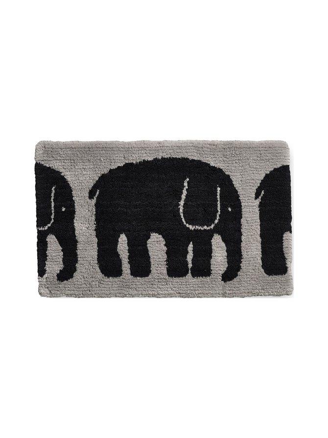 Elefantti-kylpyhuonematto 50 x 80 cm