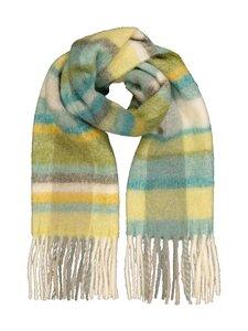 A+more - Smoothie shawl -villasekoitehuivi - GREEN COMB. | Stockmann