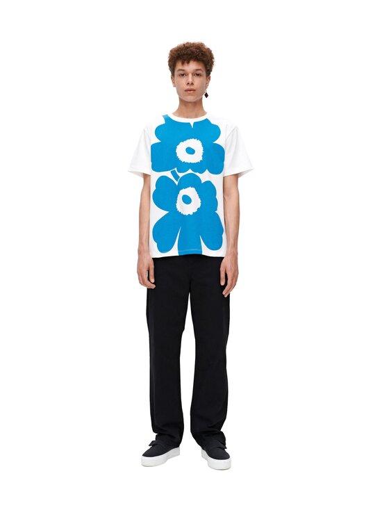 Marimekko - Lauha Unikko -paita - 510 BRIGHT BLUE, WHITE | Stockmann - photo 1