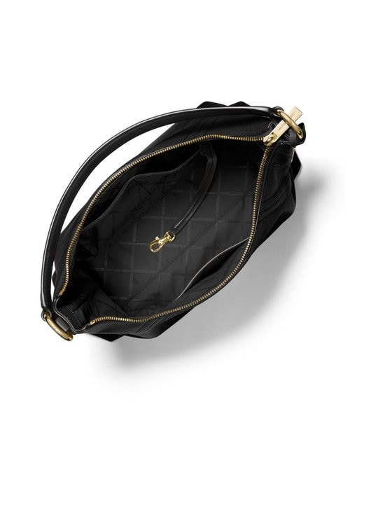 Michael Michael Kors - Aria Large Shoulder Bag -nahkalaukku - 001 BLACK   Stockmann - photo 2