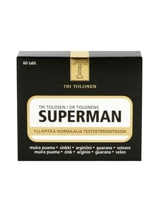Tri Tolonen - Superman+ 60 tabl 84 g - null | Stockmann