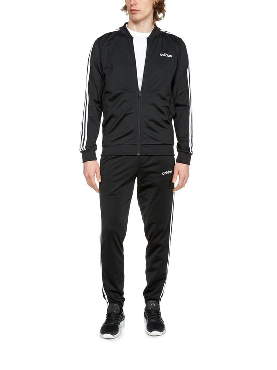 adidas Performance - 3-Stripes Track Suit -verryttelyasu - BLACK/BLAC BLACK/BLACK/WHITE | Stockmann - photo 1