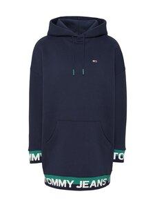 Tommy Jeans - TJW Branded Hem Sweat Dress -collegemekko - C87 TWILIGHT NAVY | Stockmann