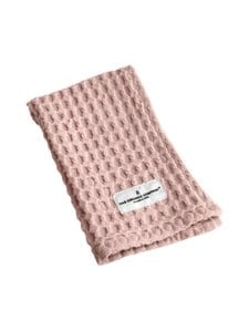 The Organic Company - Big Waffle Kitchen and Wash Cloth -pyyhe 25 x 40 cm - PALE ROSE (VAALEANPUNAINEN) | Stockmann