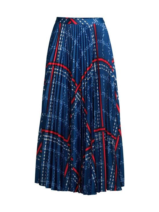 GANT - Signature Weave Pleated Skirt -hame - 435 CRISP BLUE | Stockmann - photo 1