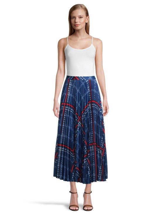GANT - Signature Weave Pleated Skirt -hame - 435 CRISP BLUE | Stockmann - photo 2