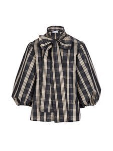 RED Valentino - Shirt Tartan Check -pusero - 0NO NERO | Stockmann