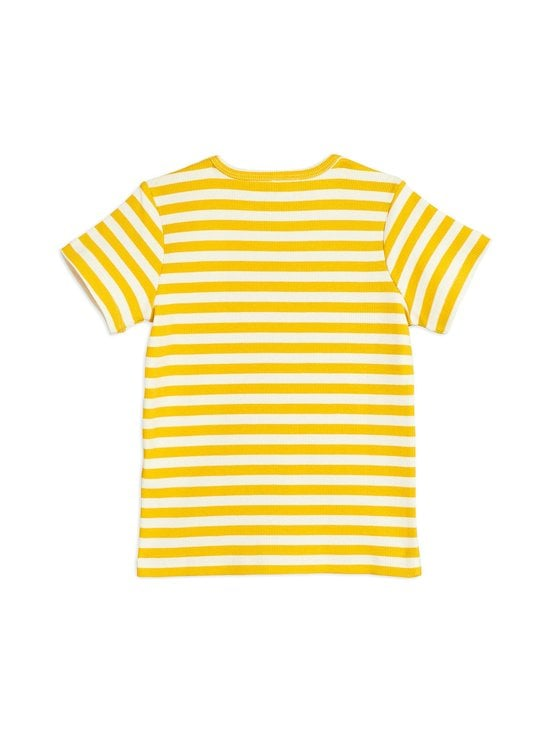 Mini Rodini - Stripe Rib Tee -paita - YELLOW | Stockmann - photo 2