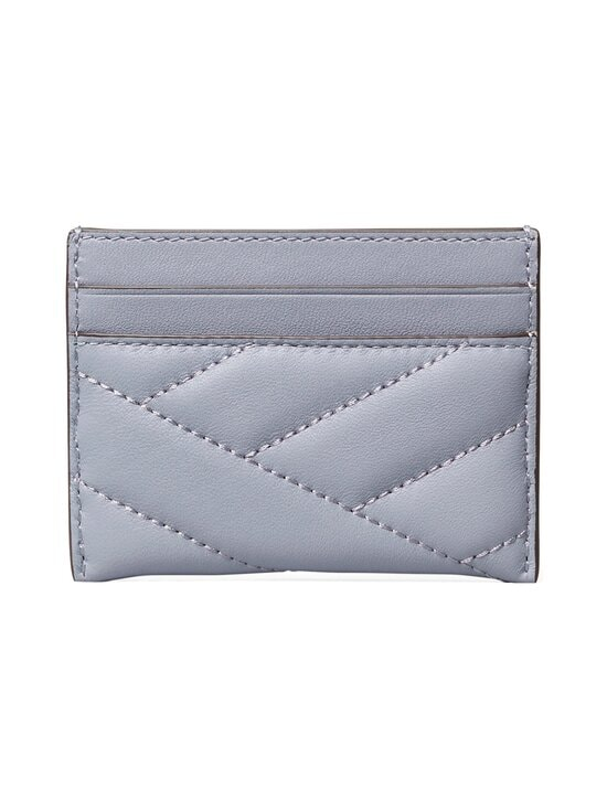 Tory Burch - Kira Chevron -korttikotelo - 042 CLOUD BLUE / ROLLED BRASS | Stockmann - photo 2