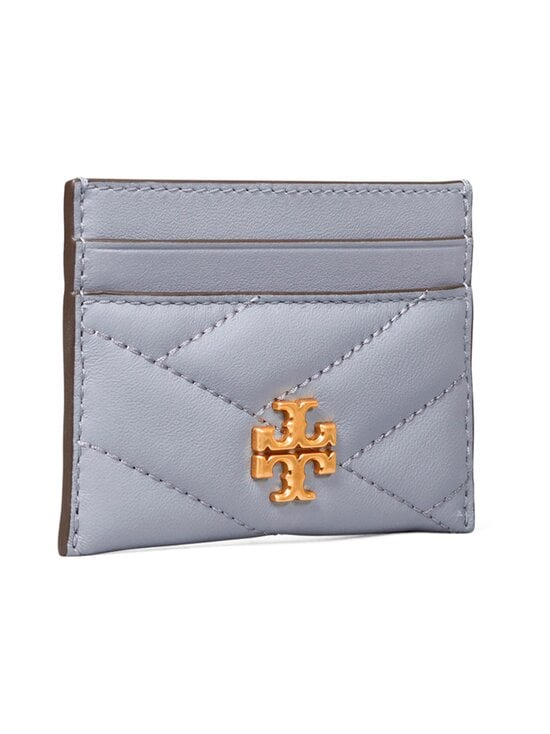 Tory Burch - Kira Chevron -korttikotelo - 042 CLOUD BLUE / ROLLED BRASS | Stockmann - photo 3
