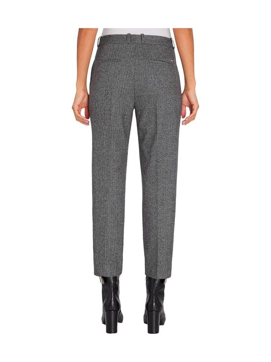 Tommy Hilfiger - Cashmere Wool Blend Ankle Pant -villasekoitehousut - 0IN GREY HERRINGBONE | Stockmann - photo 2