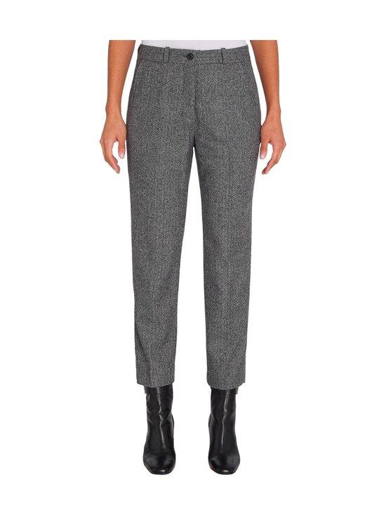 Tommy Hilfiger - Cashmere Wool Blend Ankle Pant -villasekoitehousut - 0IN GREY HERRINGBONE | Stockmann - photo 3