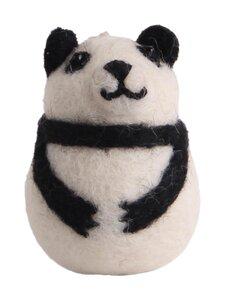Én Gry & Sif - Panda -joulukoriste Small - BLACK & WHITE | Stockmann