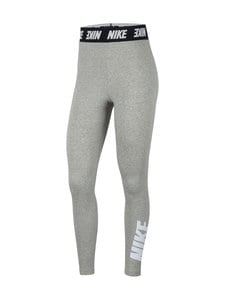 Nike - Sportswear Club -leggingsit - 063 DK GREY HEATHER/WHITE | Stockmann
